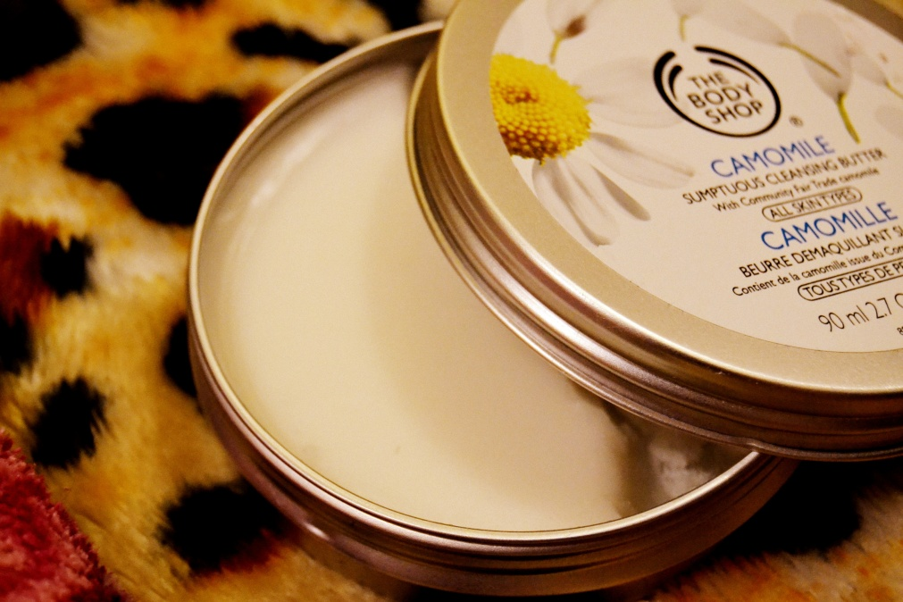 The Body Shop Camomile CleansingBalm-Review!