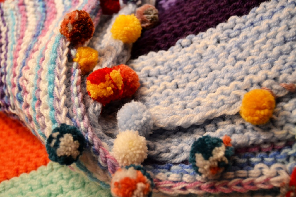 Easy Knit Baby Blanket!